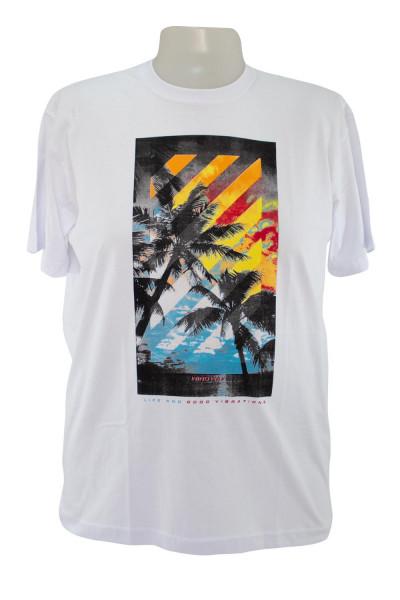 Camiseta Gola Careca - Modelo -  2650