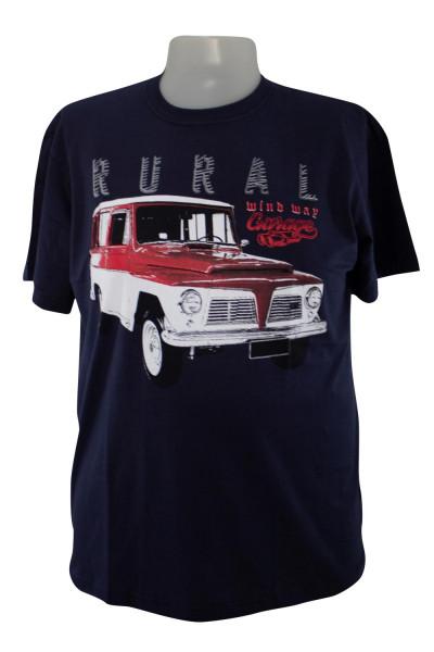 Camiseta Gola Careca - Modelo -  2625
