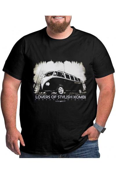 Camiseta Gola Careca -  Kombi - Modelo 2594